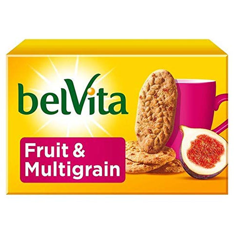 Belvita Fruit & Multigrain Biscuits - 5 x 45g