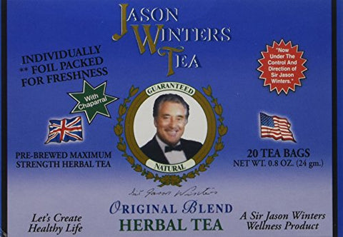 Jason Winters Original Blend Herbal Tea - 20 Count