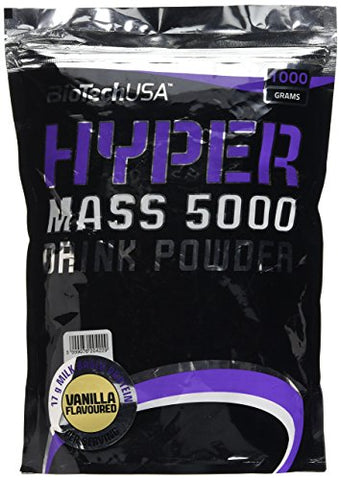 Biotechusa Hyper Mass 5000 Weight Gainer Mass 1000g - Vanilla