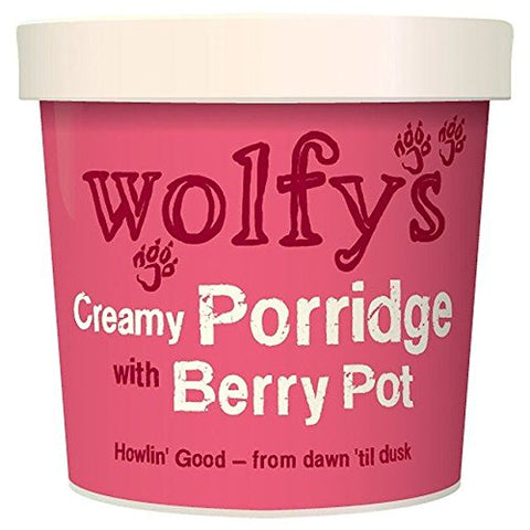 Wolfy's Porridge with Berry Pot - 100g (0.22 lbs)