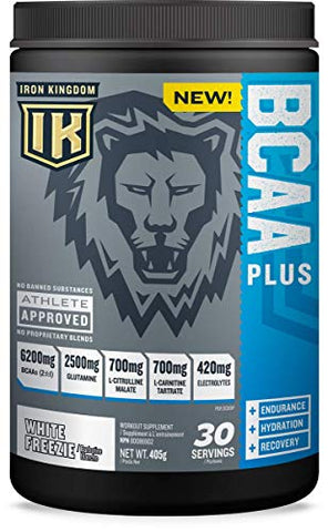 IRON KINGDOM: BCAA Plus - White FREEZIE