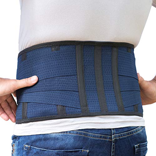 Back Support Lower Back Brace Provides Back Pain Relief   Breathable Lumbar Support Belt For Men And