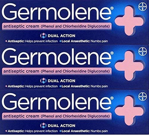 Germolene Antiseptic Cream 30g x 3 Packs by Germolene