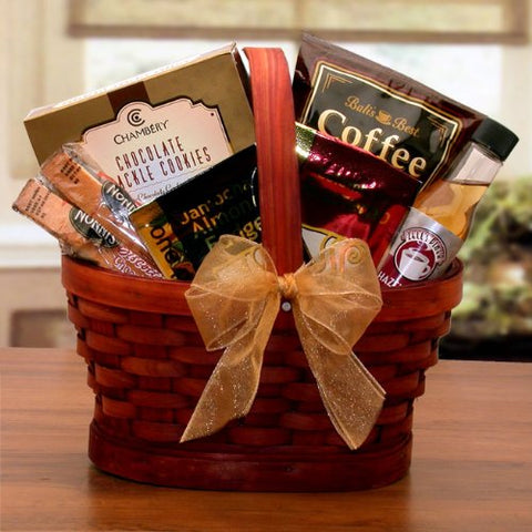 Morning Brew! Gourmet Mini Coffee Themed Gift Basket
