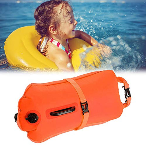 Thickened Inflatable Life-saving Bag Adult Double Airbag Buoy Bag Float Swimming Bag Storage Type Drifting