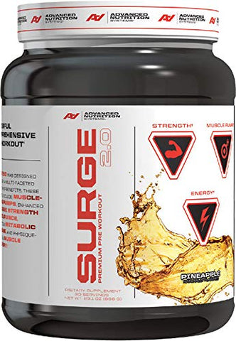 Advanced Nutrition Systems | Surge 2.0 | Pineapple