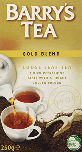 Barrys Gold Blend Loose Tea 8.8 oz Pack of 4