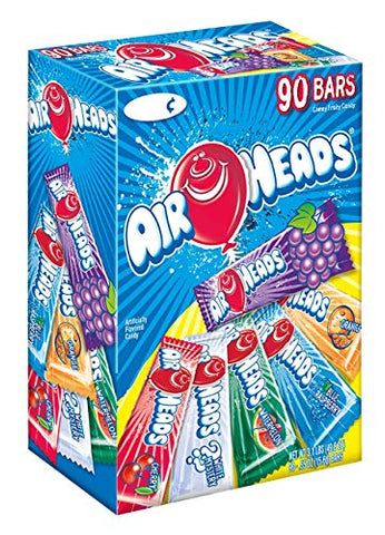 Product of Airheads Chewy Fruit Candy, Variety Pack, 90 ct.