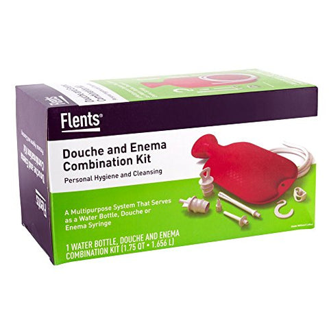 Flents Combination Douche & Enema Kit