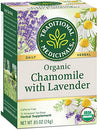 Image of Traditional Medicinals Organic Chamomile with Lavender Tea, 16 Tea Bags (Pack of 6)