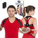 Image of Posture Corrector for Women and Men - Best Fully Adjustable Upper Back Brace Trainer - Improves Slouching and Hunched Shoulders - for Maximum Support (Med/Large)