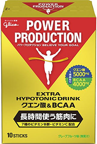 Japanese Supplement Nutritional Drink Glico citric acid & BCAA 3 pieces
