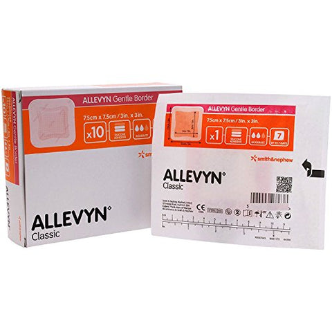Smith & Nephew Allevyn Gentle Border 3