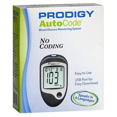 Prodigy AutoCode Blood Glucose Monitoring System, Pack of 2
