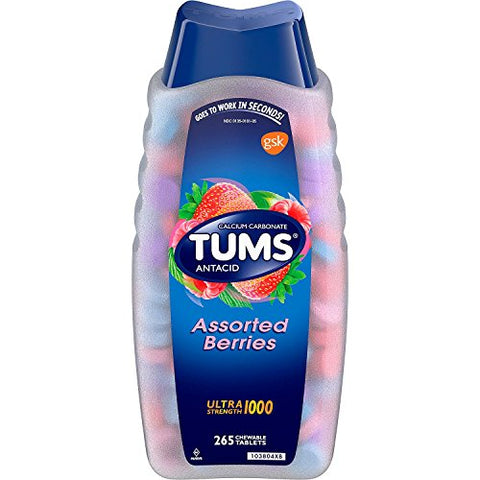 Tums Ultra Strength 1000 Chewable Tablets, 265 ct.