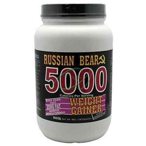 Vitol Russian Bear 5000 Weight Gainer Chocolate - 4 lbs