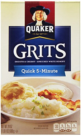 Quaker Quick Grits, 24 Ounce (Pack of 12)