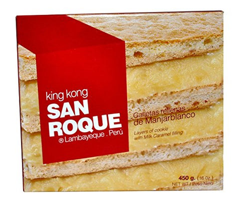 King Kong San Roque Relleno de Manjarblanco 16oz 6 Pack