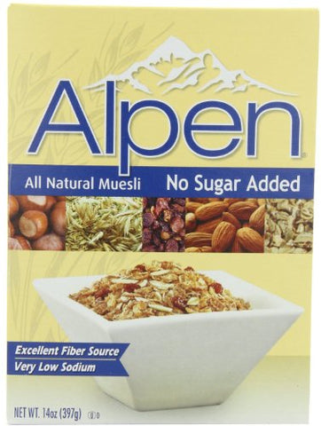 Alpen Cereal N/S - 14 Oz Pack -- 12 Per Case.
