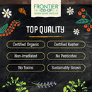 Image of Frontier Co-op Nettle, Stinging Leaf, Cut & Sifted, Certified Organic, Kosher | 1 lb. Bulk Bag | Urtica dioica L.