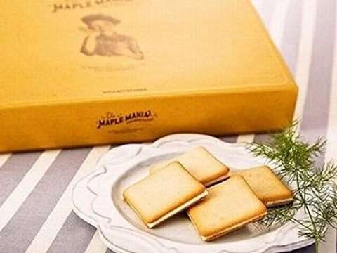 MAPLE MANIA Maple Butter Cookie Tokyo Souvenir Gift in Japan Omiyage a box in 9 pieces