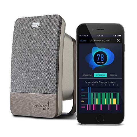 SleepScore Max | Sleep Tracking Device with Most Advanced Sleep Improvement System and a Companion Sleep Tracking Smart Phone App