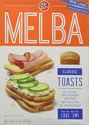 Old London Melba Toast Classic 5 oz