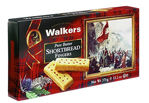Walkers Shortbread Fingers Shortbread Cookies, 13.2 Ounce Box