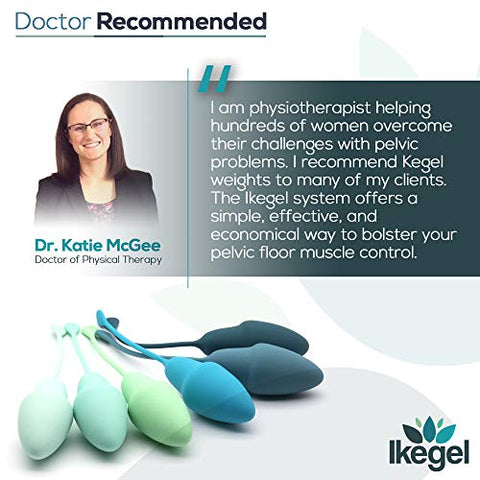 Ikegel: The Easy to Use Pelvic Floor Strengthening Device with Simple Kegel Exercise eBook | These Kegel Exercise Products are Doctor Recommended, Ideal Kegel Balls for Tightening and Bladder Control