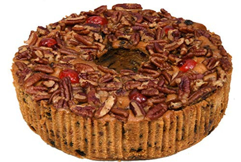 Jane Parker Classic Light Fruit Cake 48 Ounce (3 Lbs) Fruitcake Ring in a Box