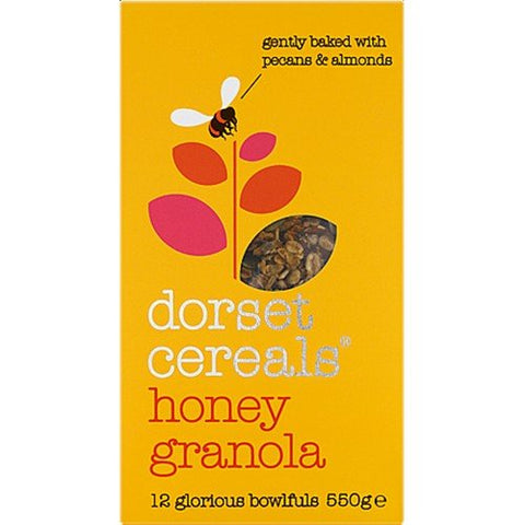 (3 PACK) - Dorset Cereal - Honey Granola | 550g | 3 PACK BUNDLE