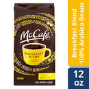 Image of Mc Cafe Coffee Ground Coffee, Breakfast Blend Light Roast, 12 Ounce