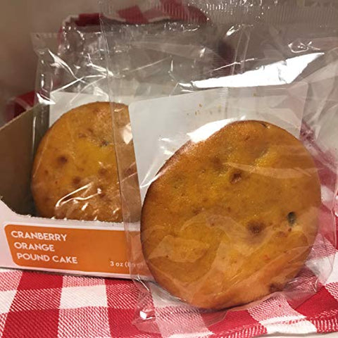 Magic Flavors Pound Cake Singles (Cranberry Orange) With Free Sample