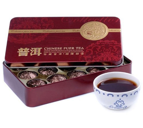 1box 2010yr Glutinous Rice Fragrance Small Golden Tuo Puer/puerh Tea