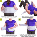 Image of BraceAbility Women's Back Brace for Female Lower Back Pain Treatment & Lumbar Support (2XL)