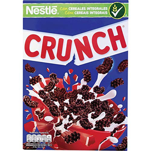 Nestle Crunch - Whole Grain Breakfast Cereals - 4 x 13.22oz / 375gr (pack of 4)