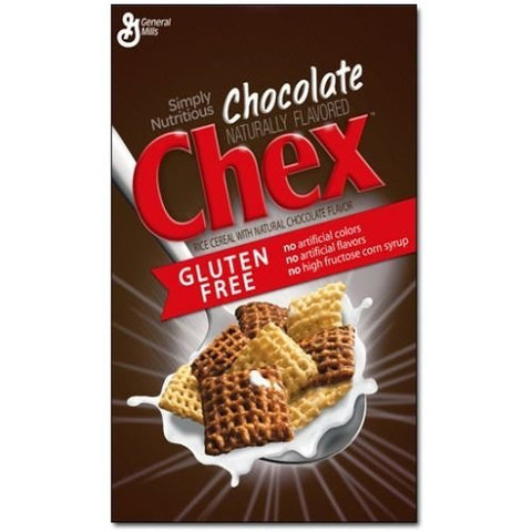 Chex Gluten Free Chocolate Chex Cereal, 12.8 Ounce -- 12 per case.