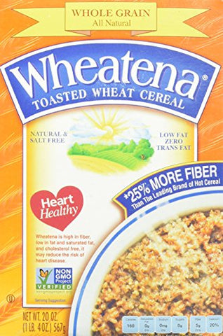 Wheatena Cereal, 20 oz Box