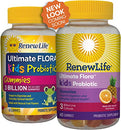Image of Renew Life Kids Probiotic   Ultimate Flora Kids Probiotic Gummies Probiotic Supplement  Dairy & Soy