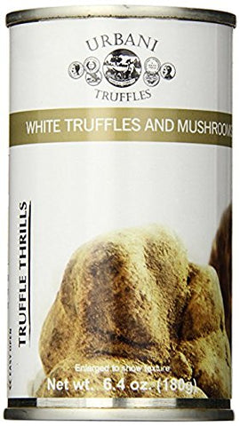 Urbani Truffles Thrills, White Truffles and Mushrooms - 2 pcs x 6.4 oz cans