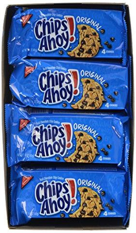 Chips Ahoy! Cookies, 12 pk, 1.4 oz each