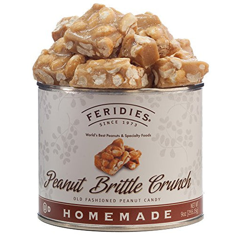 FERIDIES Old Fashioned Peanut Brittle Crunch - 9oz can