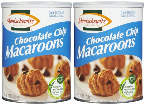 Manischewitz Macaroon Chocolate Chip Cookie (Kosher For Passover), 10 oz, 2 pk