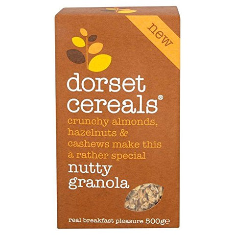Dorset Cereals Simply Nutty Granola - 500g (1.1 lbs)