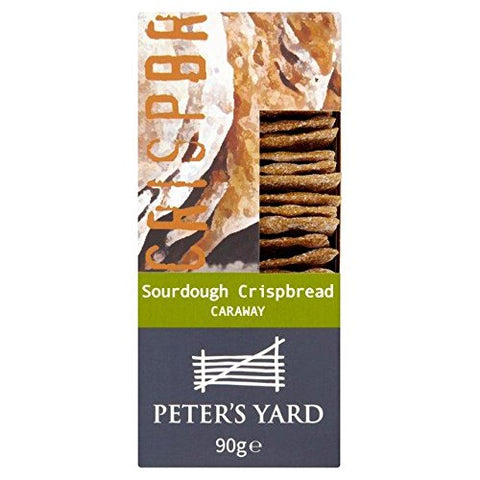 Peter's Yard Caraway Sourdough Crispbread - 90g (0.19 lbs)