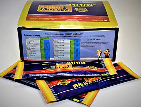 Kicker Muscle (30 Stick Packs) All Natural Muscle Building suplements