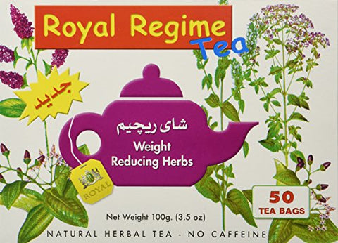 Royal Regime Weight Loss Diet Slimming 50 Tea Bags