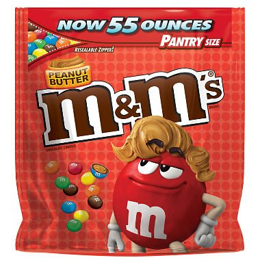 M&M's Peanut Butter  - 50 oz. bag
