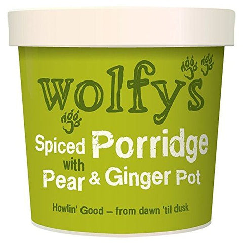 Wolfy's Spiced Porridge with Pear & Ginger Pot - 102g (0.22 lbs)