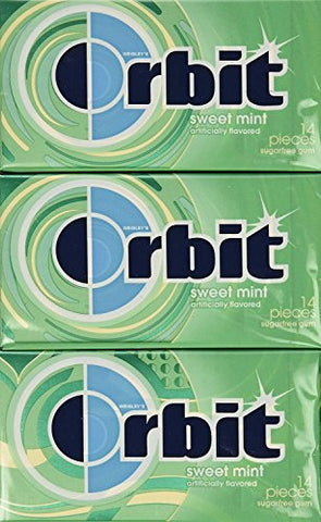 Wrigley's Orbit Sweet Mint - 12/14 pc. Packs
